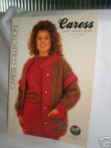 Caress Collection Mohair for Machine Knitting Book M636